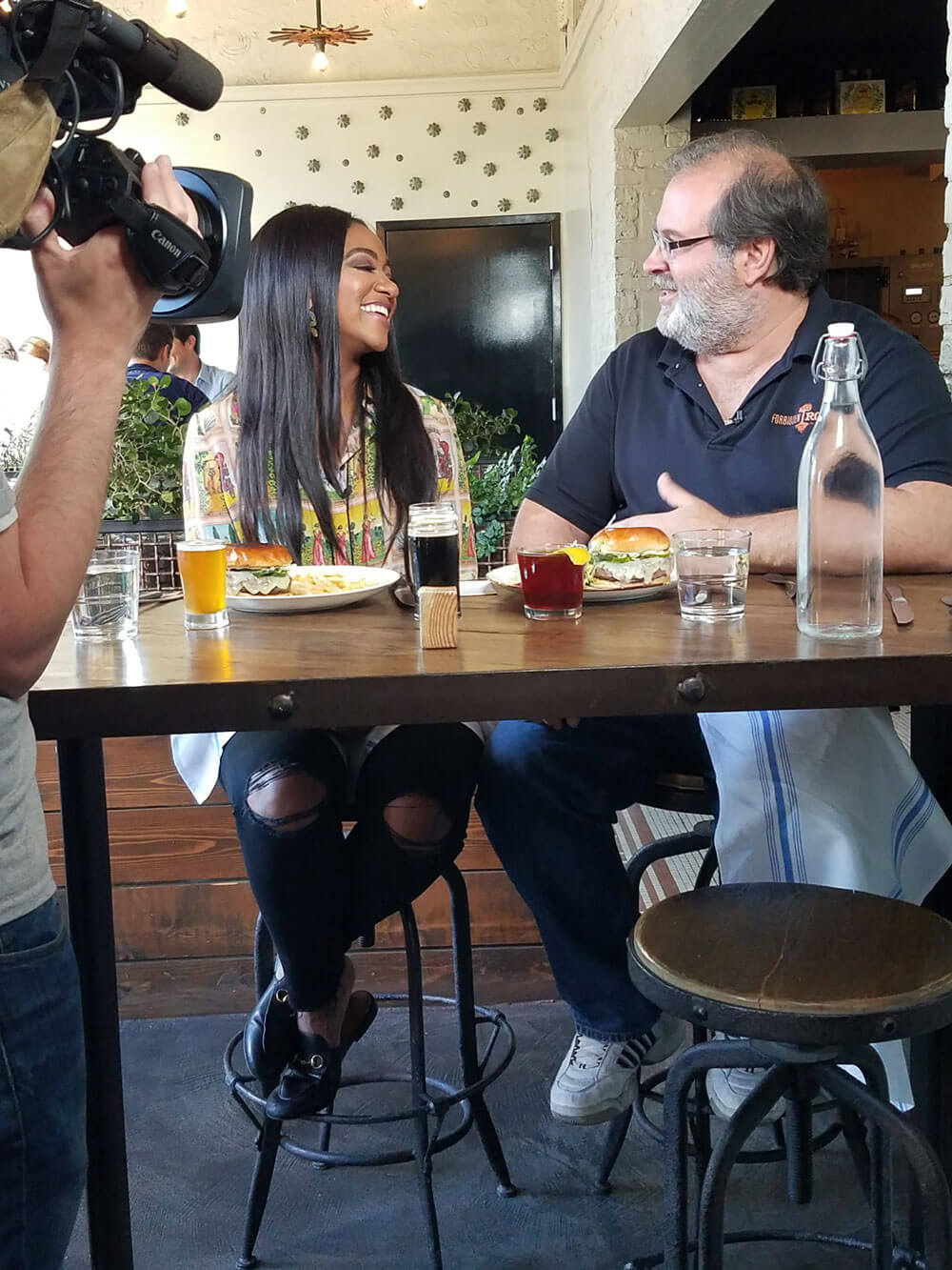 Britney Payton talks burgers with Forbidden Root